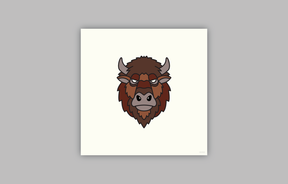 AMERICAN BISON(Bison bison)