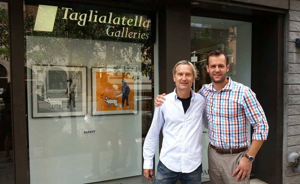 Peter Mars with Taglialatella's President and Director of Sales Brian Swarts