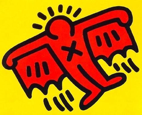 Keith Haring Batman