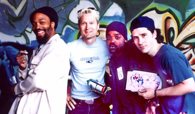Artistic Bombing Crew Circa 2001