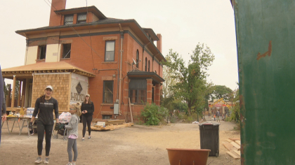 "A rundown old house off of West 3rd Avenue and Broadway is getting a full makeover and a new purpose.  It's being transformed into a home for some of Colorado's most vulnerable: our homeless youth.   http://denver.cbslocal.com/2017/09/23/old-home-for-homeless/   ""In the midst of my addiction I just simply wanted to die,"" said  Providence Network  grad Bryan Rickman, ""That was my ultimate goal, just to have the pain end. Today my life is good, it's really good.""  In two years, Bryan went from a homeless drug addict with no home and no hope to a clean and sober productive member of our community.  Providence Network  already manages four homes like this in the Denver area and the teens housed there.  This $1.1 million project will provide 12 more Denver youth with an opportunity to break the cycle.   Over a dozen small business owners were brought together by  The Lion Project  to restore this house.  Todd Sexton with Sexton Financial says this service opportunity presents a new way to connect with his employees.  ""A lot of times I find in an office, day-to-day, people just kind of get work done and you don't connect.  I think on a different level, being able to spend time out of the office and get to know not only your employees, but other people who are service minded as well can be helpful,"" Sexton told CBS4.   ""I have options today,""  said Rickman. ""I have a wonderful job, I have people around me who love me. I have the opportunity to love other people.  That's crazy, that's not something that I could have ever dreamed for myself.""  The  Providence Network  says the Silver Lining House should be completed by November 1st, 2017.ve ever dreamed for myself."""
