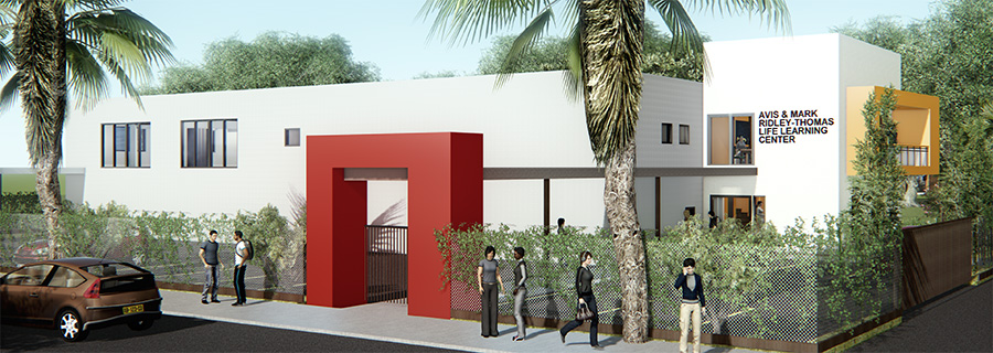 """Earlier this week,over 200 attendees came out to the groundbreaking ceremony held by Los Angeles County Board of Supervisors Chairman Mark Ridley-Thomas for the Avis and Mark Ridley-Thomas Learning Center.   https://lasentinel.net/the-avis-mark-ridley-thomas-life-learning-center-launches-in-l-a.html   The center is named after both Avis and Supervisor Ridley-Thomas, who share a history of actively supporting coalition building, social justice, empowerment, and non-violent solutions to particular issues.  The newly renovated building is set to open in the heart of Los Angeles,at 5054 South Vermont Avenue, and will coincide with their efforts of community empowerment and activism. The center will act as a dedicated youth center and encourage young adults and their peers to utilize the space as a safe zone and resource center.  Additionally, the building will act as a  """"stand-alone drop-in center""""  and will provide access to holistic arts education, permanent housing comprehensive resources, school assistance, career training, and a positive support system.  """"One of the most challenging periods in a young person's life is the transition from adolescence to adulthood,"""" said Avis Ridley-Thomas.  The Center will act as a """"stand-alone drop-in center"""" and will provide access to holistic arts education, permanent housing comprehensive resources, school assistance, career training, and a positive support system. (courtesy photo)  According to a recent 2017 study on the overlap of homelessness and commercial exploitation, 91 percent of homeless youth reported being offered fraudulent work opportunities including scams, pandering, and sex trafficking.  The study goes on to state that  more than half of the homeless youth report mental health challenges, involving depression, anxiety, psychosis, and post-traumatic stress.  Moreover, in the county of Los Angeles, youth homelessness  has increased 61 percent from 2016 to 2017.   Both Avis and Supervisor Ridley-Thomas believe that """