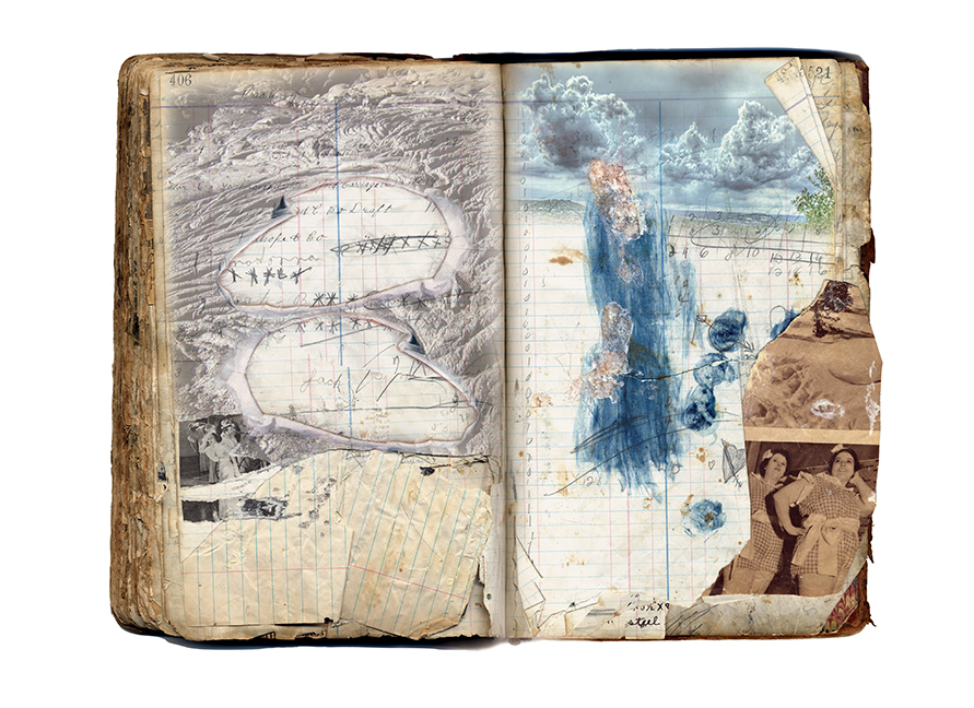 """Book Techtonic, from The Ledge Suite 2009-2014, 16""""X20"""", pigmented inkjet original prints on archival paper, 250.00 CAD"""