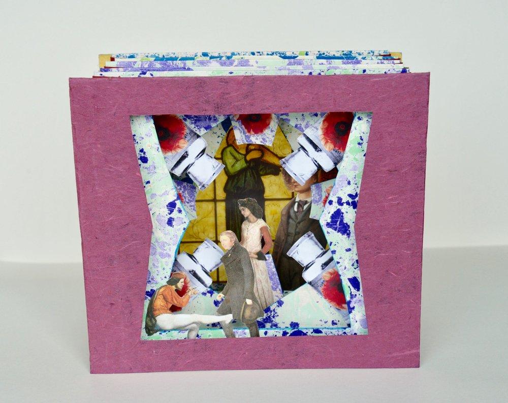 "The Pre-Raphaelites October, 2011, 9"" X 10"" X 4.5"", 400 CAD"
