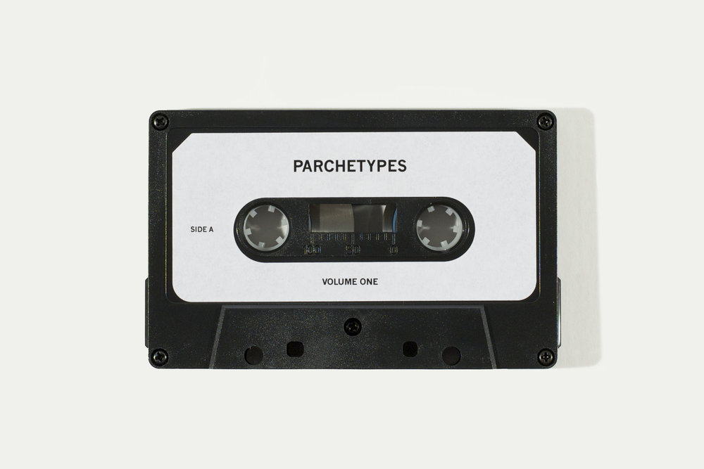 Parchetypes, 2012, Edition of cassette tape, B-Side compilation of the project's Point Pleasant Park piano and bagpipe performance recordings, 2 cassettes remaining, 60 CAD