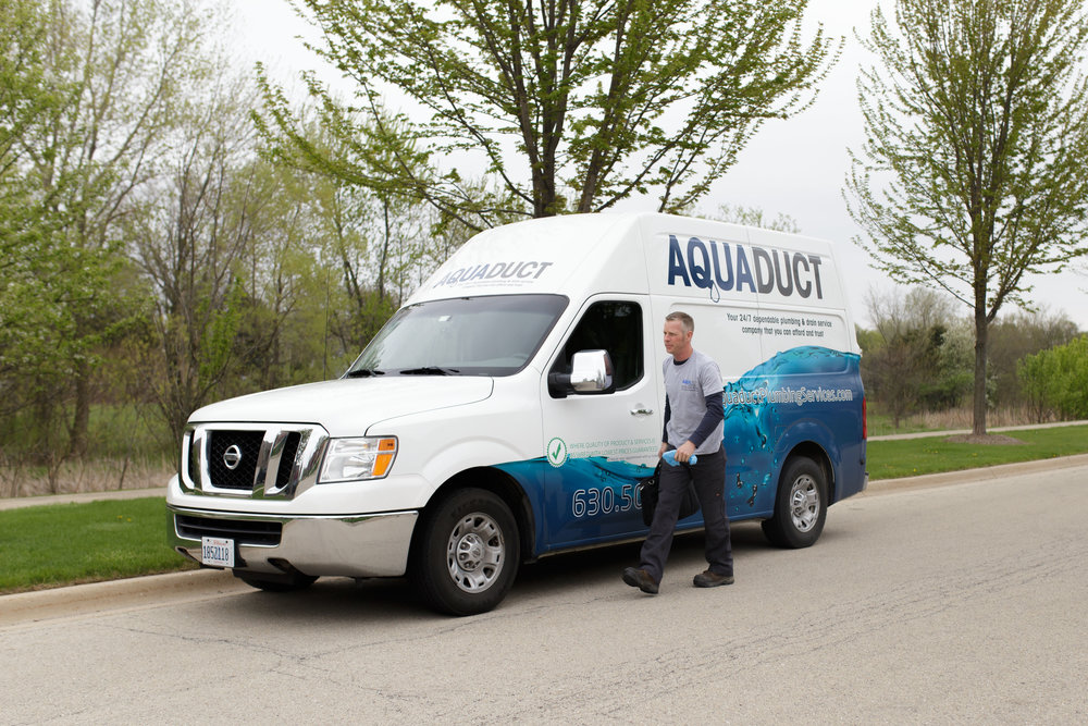 Our residential plumber ready to work in Montgomery, IL