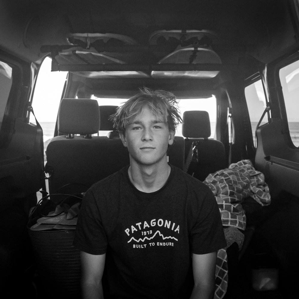 Quinten Rubalcava   You will see Quinten starring in most of our surf edits. Ojai native and surf obsessed, he's first in and last out of any given session. Patagonia and Firewire ambassador and living proof time dedicated to your craft pays off.