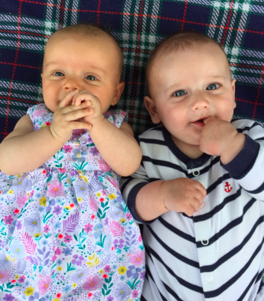 The newest members of the MLL team, Sophia and Ralph