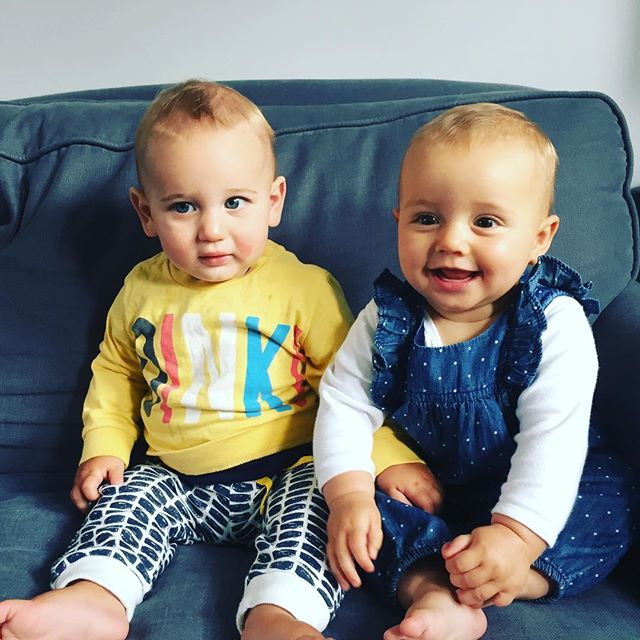 MLL second generation 👶🏻👶🏻 Can't believe how quickly these little ones are growing! #maternityleavelife #secondbabies #ralphieandsophia #babiesofinstagram #mblogger #parenting