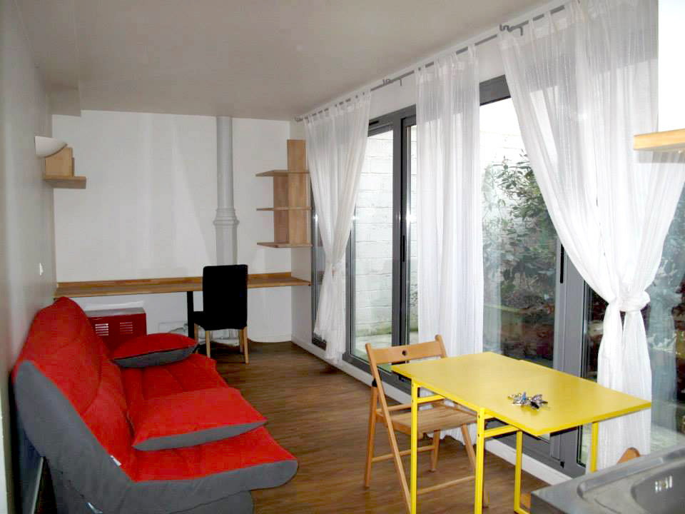 "One room apartment 28sqm - Groundfloor - ""Specific"""