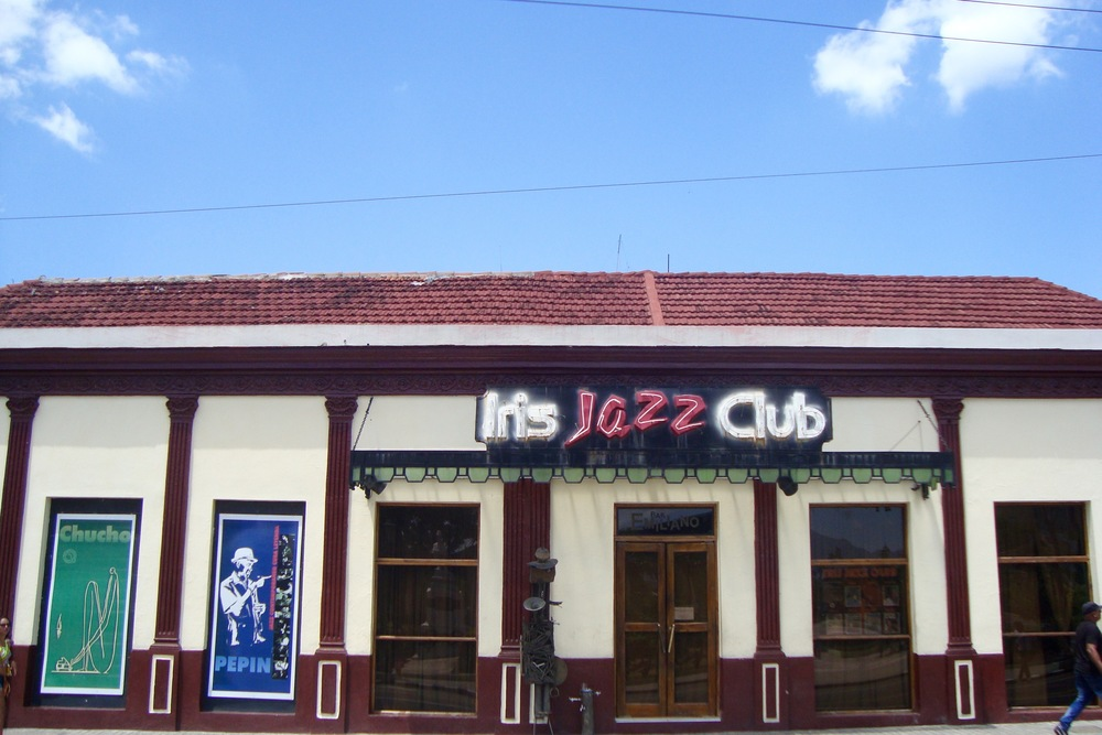 The famous Iris Jazz Club, Santiago
