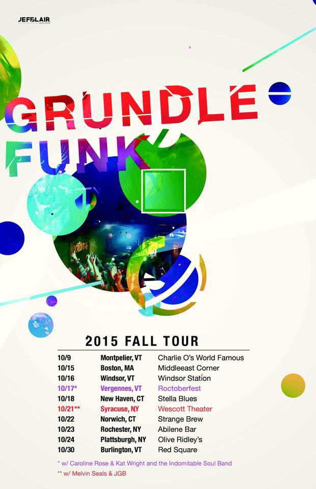 Grundlefunk fall tour schedule.
