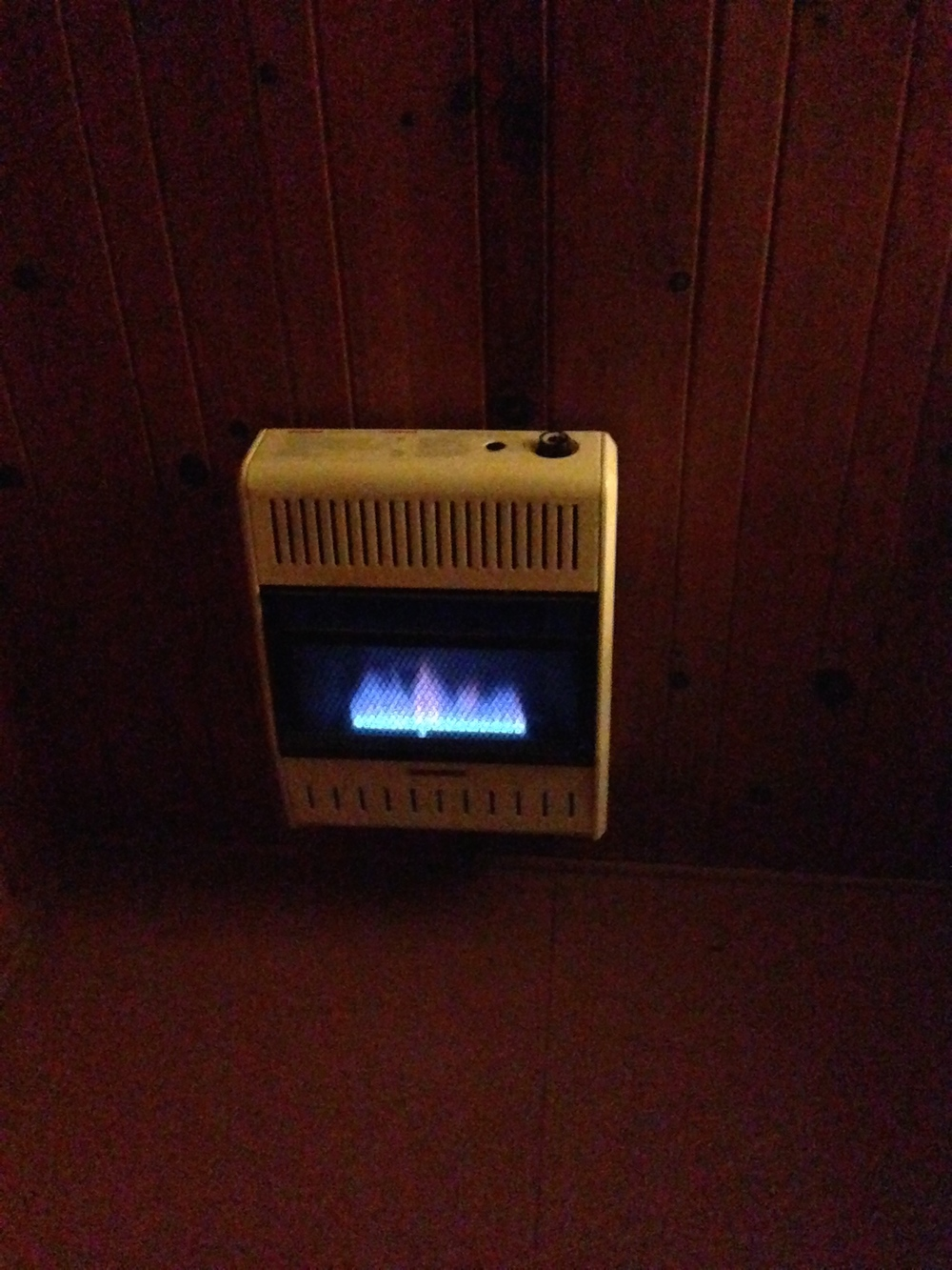 The little heater that could (or not, most nights.)