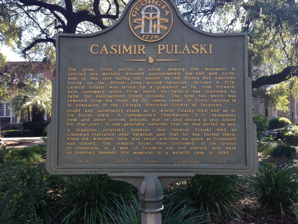 Pulaski square.