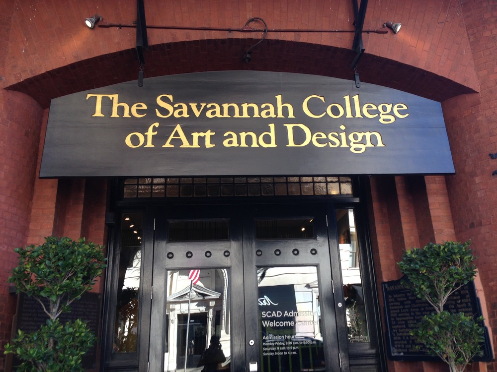 SCAD's main visitor center.