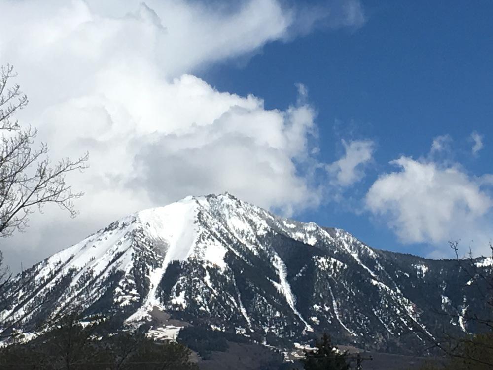 Mount Lamborn rises above Paonia.