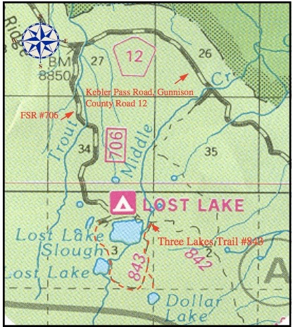 Forest Service Map
