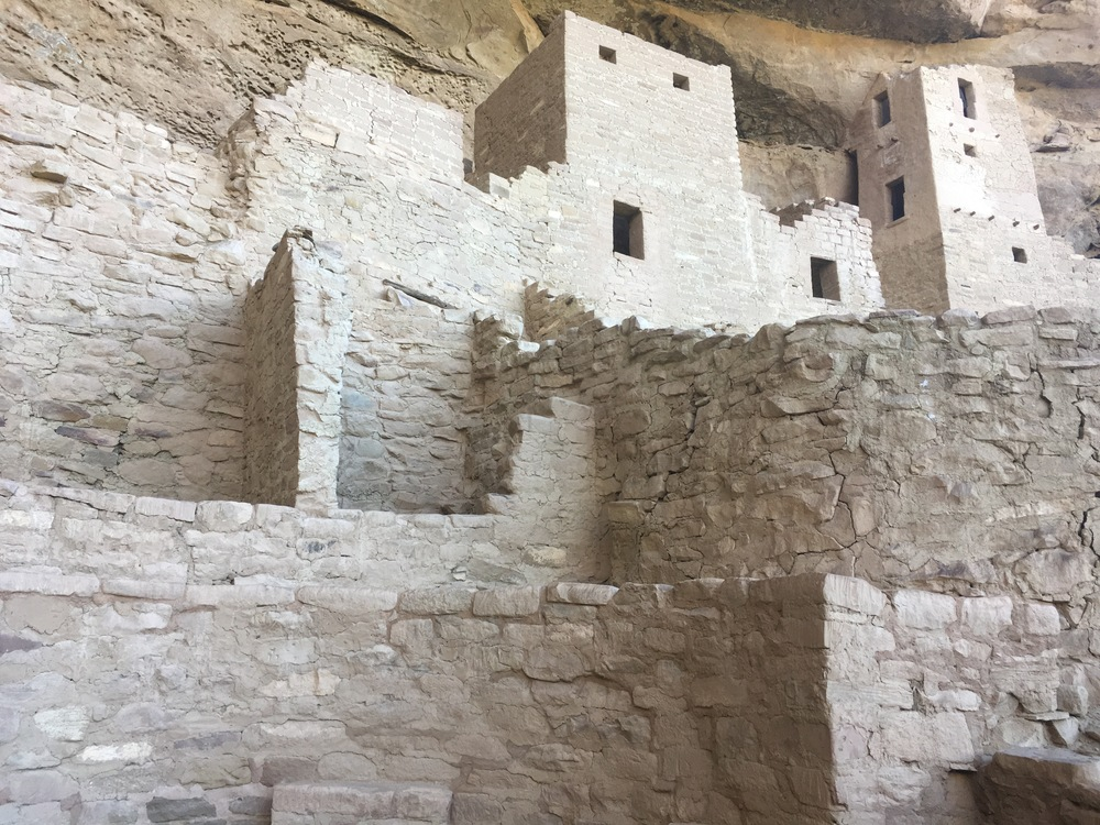 Details of Cliff Palace dwellings.
