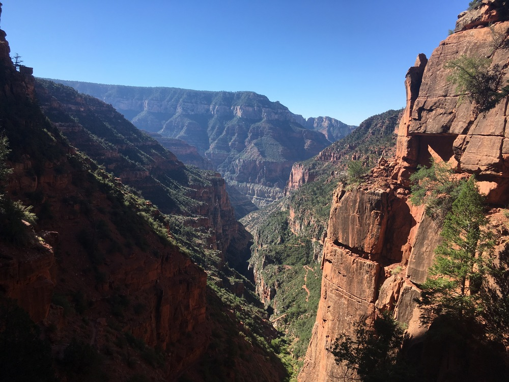 Hiking the North Kaibab Trail