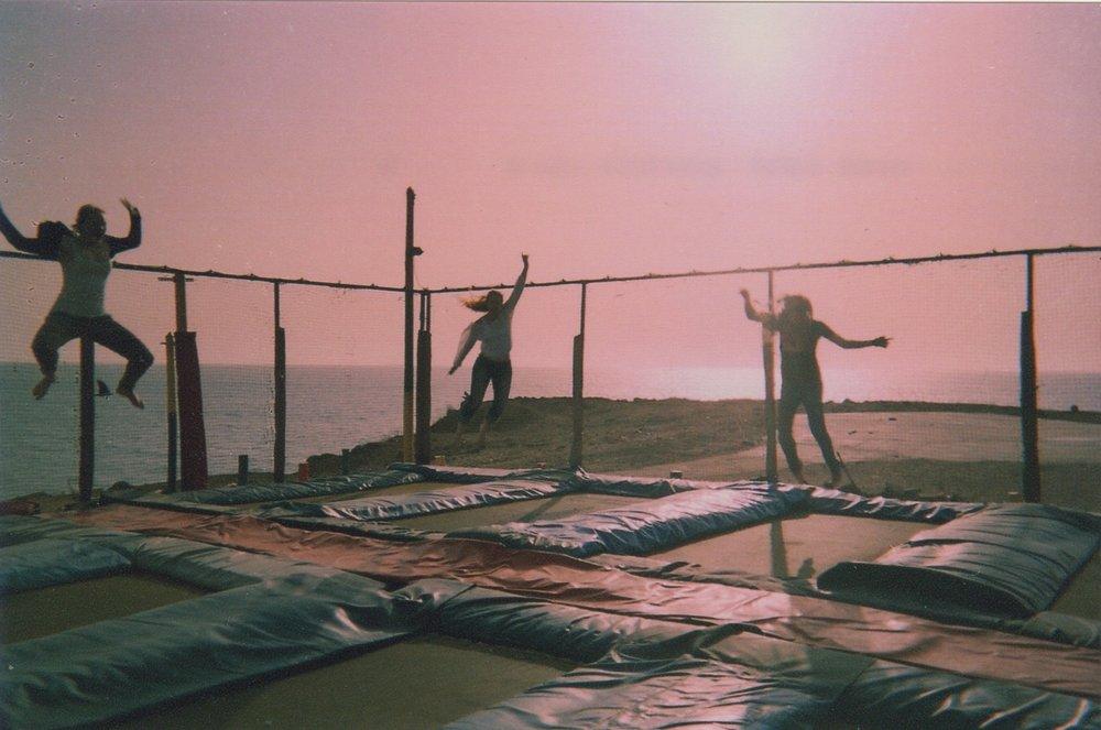 les trampolines dakar, senegal 2014