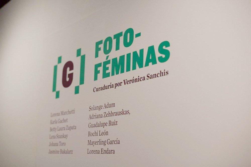 GuatePhoto festival. Foto Féminas' exhibition featuring the work of twelve photographers. Antigua, Guatemala. 2015