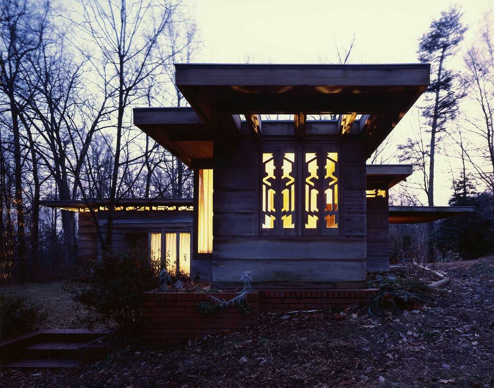 Help us light up Pope-Leighey! - We need to install improved outdoor lighting around the Pope-Leighey House, so we can continue to host nighttime events and keep this gem safe and secure.WE NEED $10,000 FOR THIS PROJECT - CLICK HERE TO DONATE NOW!