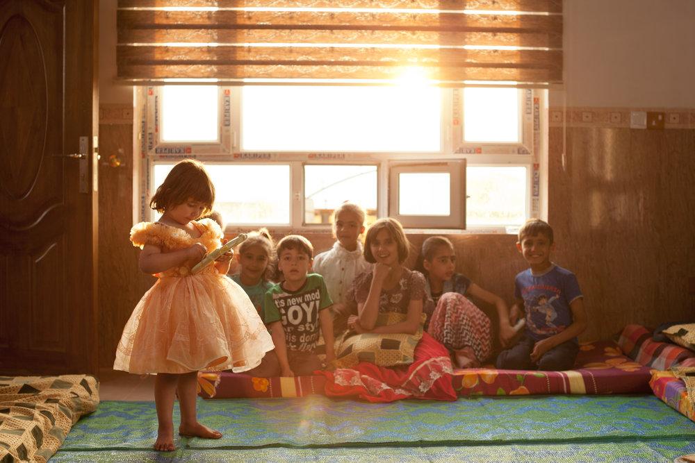 Meet Refugee Needs - Provide for needs like kerosene, blankets, school supplies, and more.