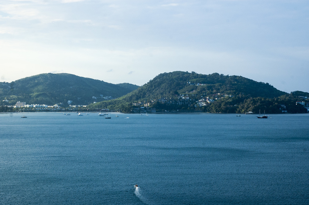 Gorgeous views of Patong