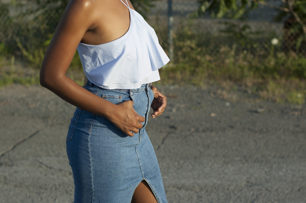 zara-denim-skirt