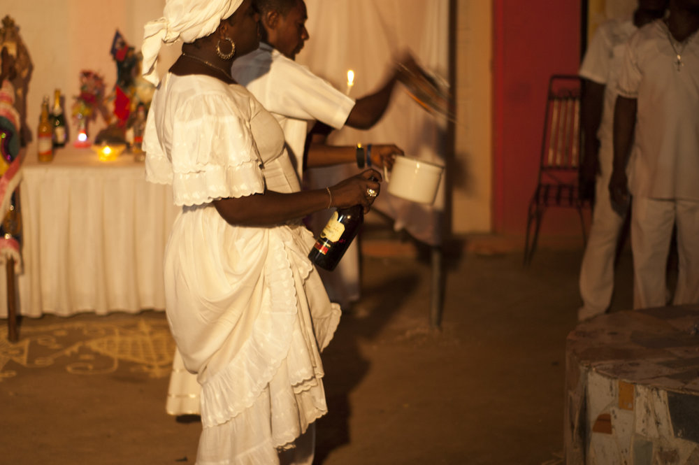 Traditional Haitian Voodoo Ceremony