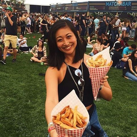 Who is having fun with fries!!! #friterienyc @govballnyc Regram @grayseeyu #govballnyc2016 #govballnyc #eeeeeats #infatuation