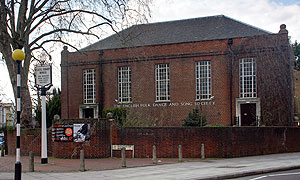 Cecil Sharp House (Camden) *