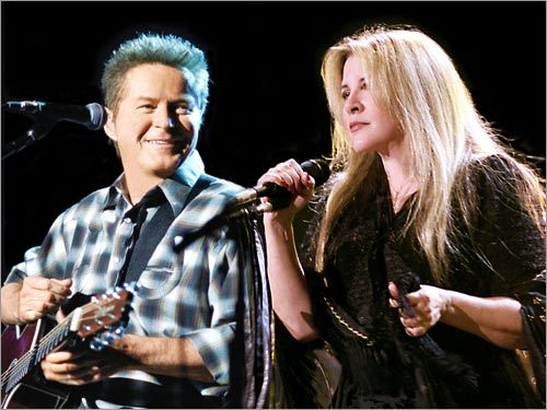 Stevie nicks and don henley leather and lace official video