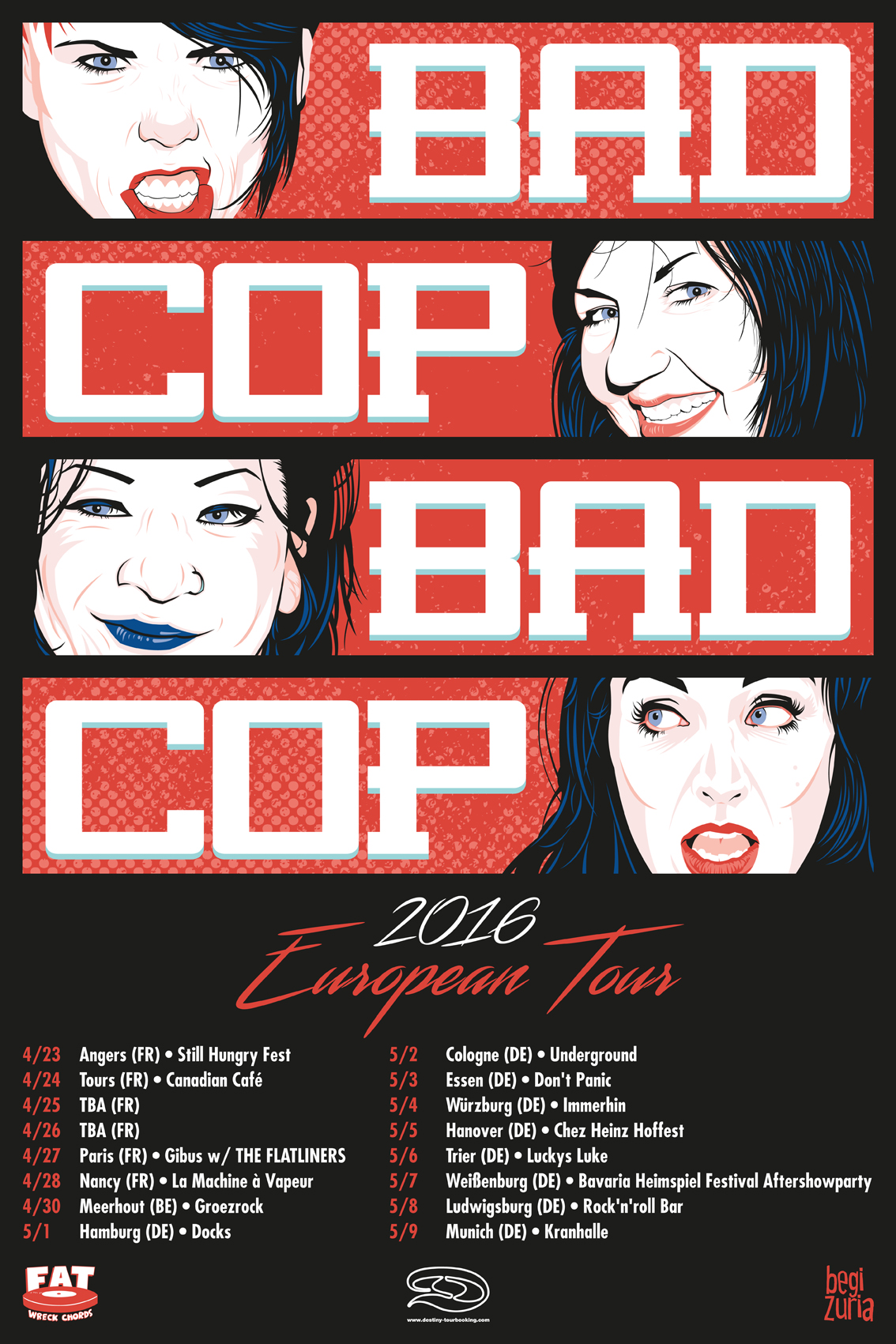 News & Events — Bad Cop / Bad Cop