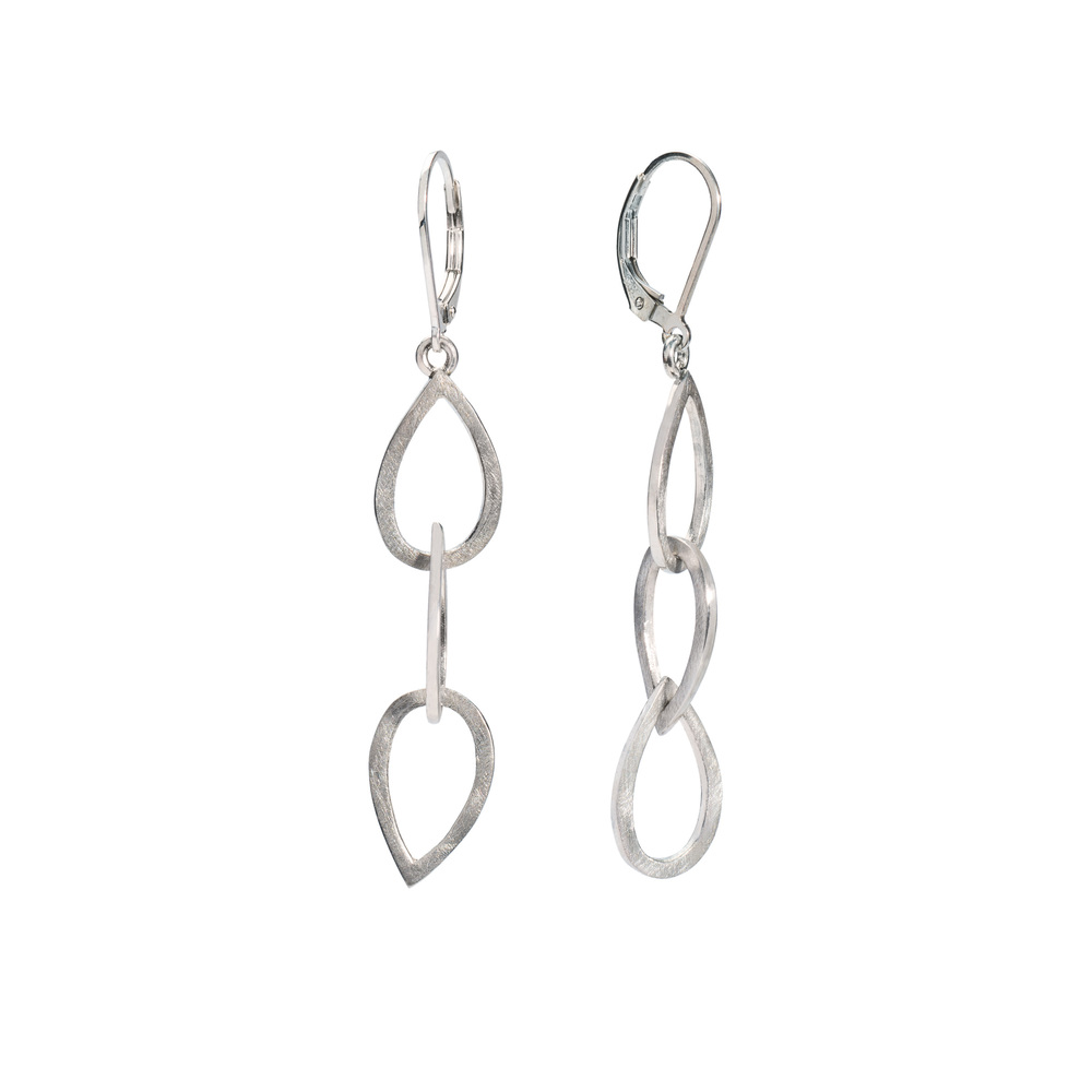 S/S Small Waterdrop Trio Earrings
