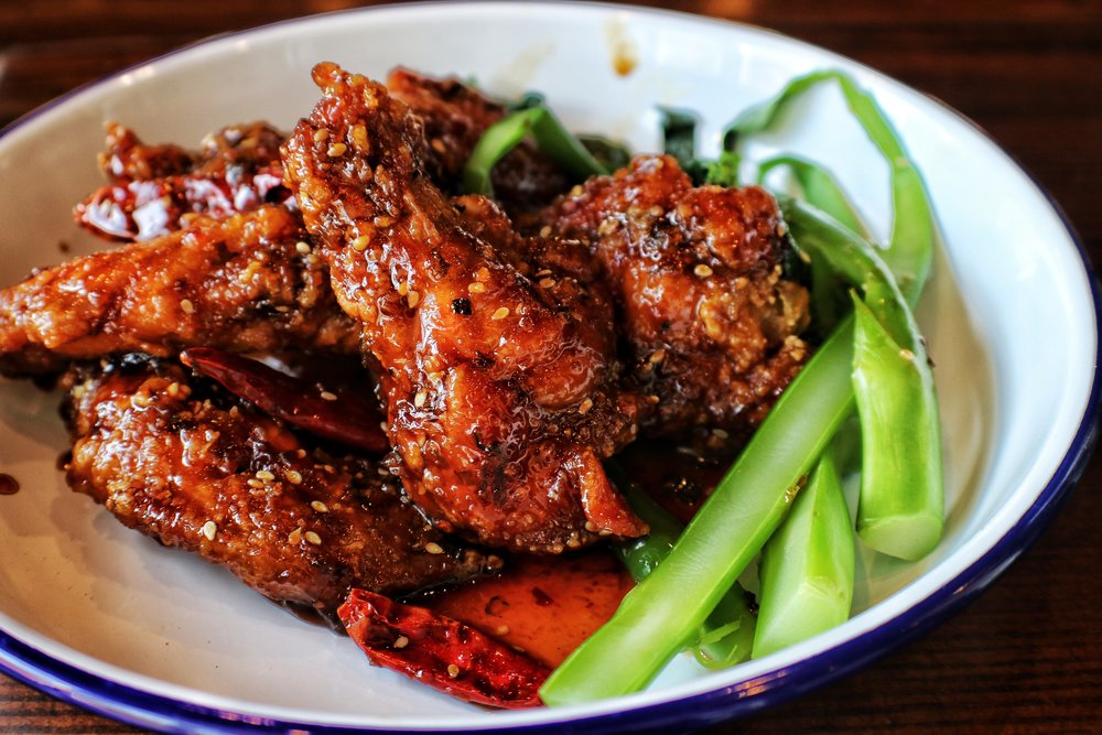 GENERAL TSO'S CHICKEN WINGS