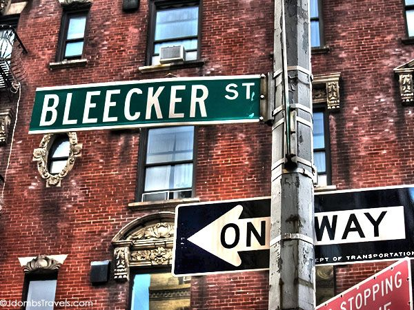 BLEECKER STREET FOOD TOUR