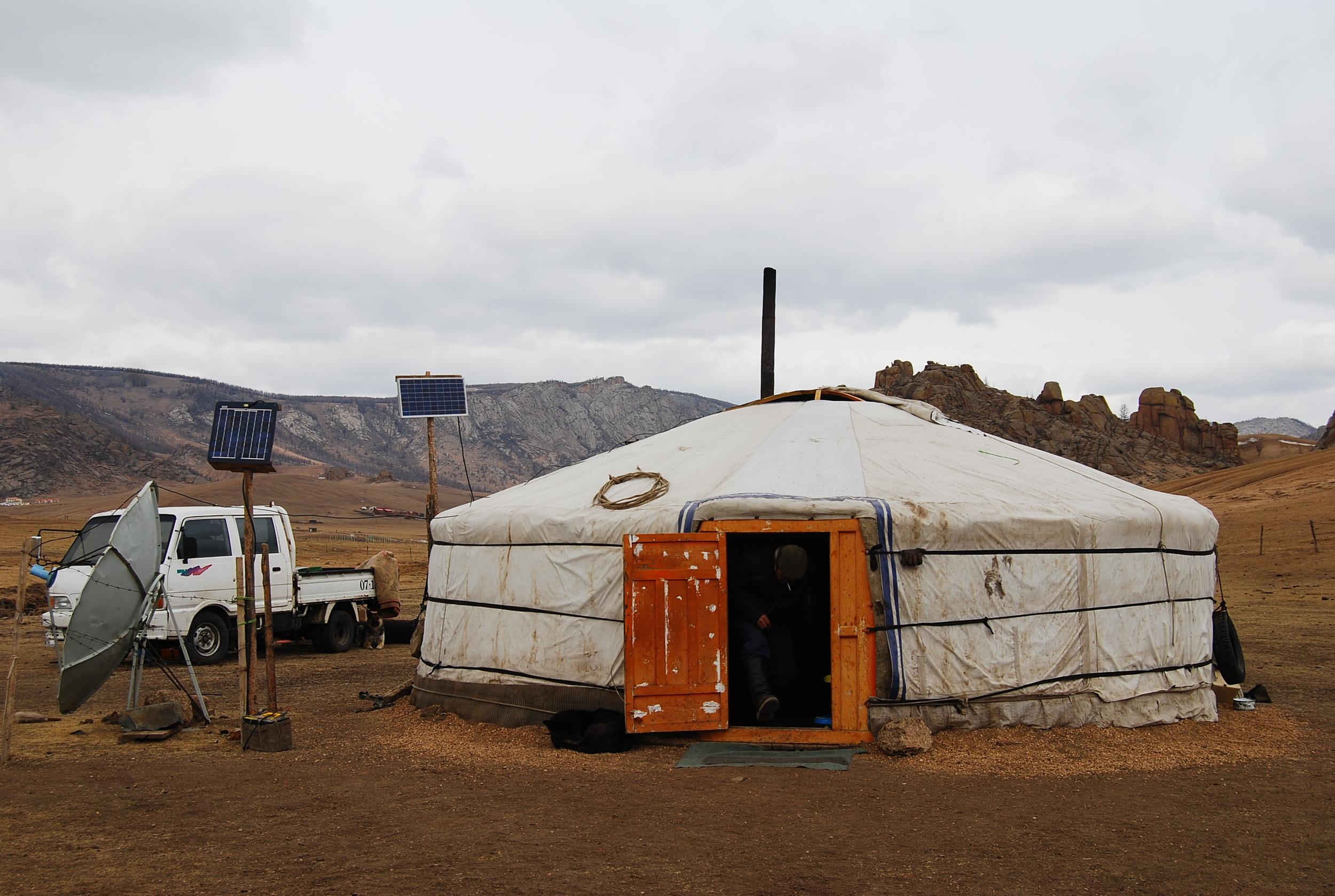 21st century Mongolian ger