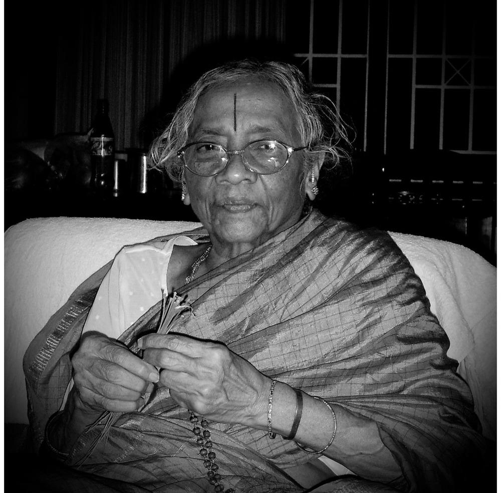 Smt. Komalavali Mani - My late grandmother