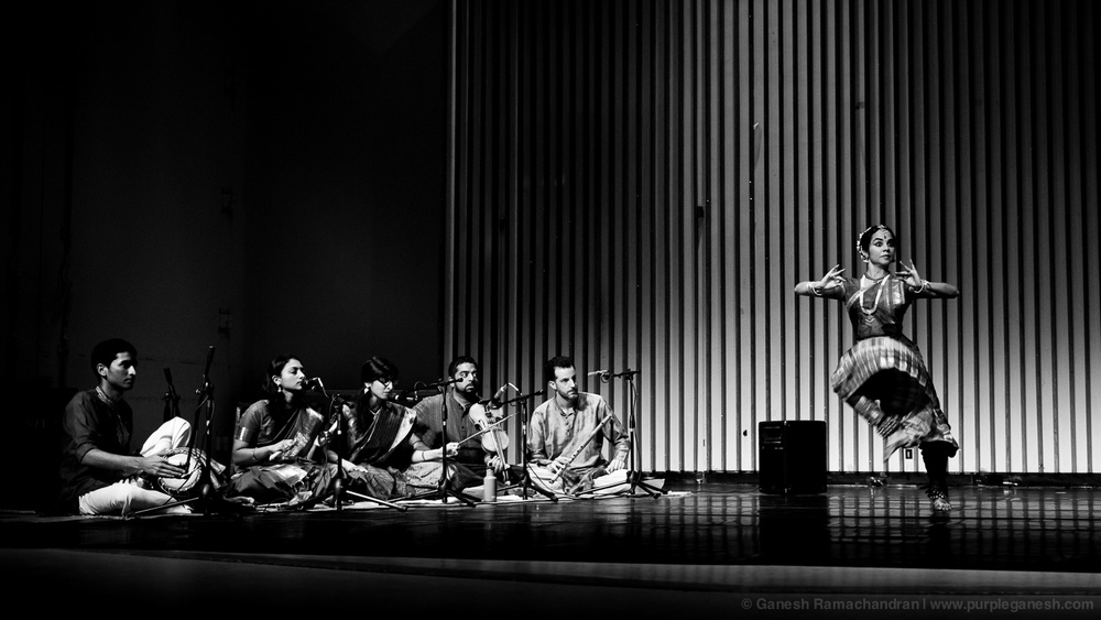 """Love Songs of the Dark Lord"" - A solo Bharatanatyam margham with live orchestra.Wellesley College, April 2012 