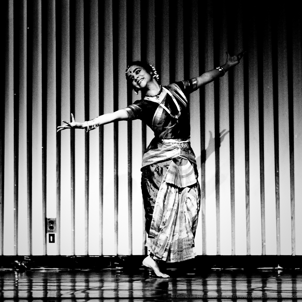 """Love Songs of the Dark Lord"" -   A solo Bharatanatyam margham with live orchestra, Wellesley College, April 2012 