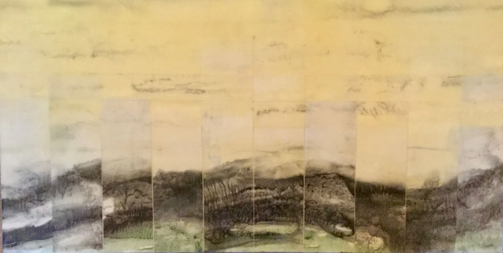 Pieced Ridge, Woven Sky ~ 10x20