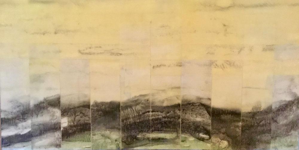 Pieced Ridge, Woven Sky ~ 10x20 SOLD