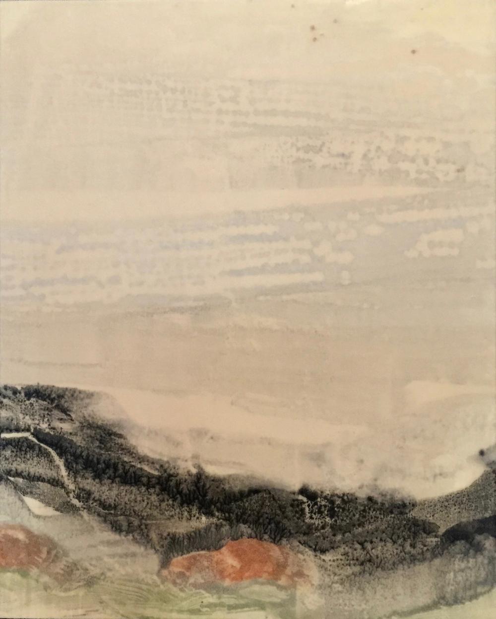 Akai Iwa (Framed Pair) ~ 8x10