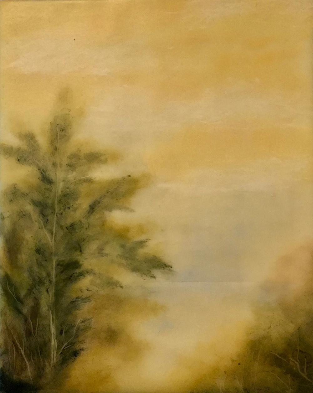 Pale Horizon ~ 8x10