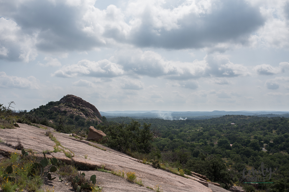 Climbing Enchanted Rock