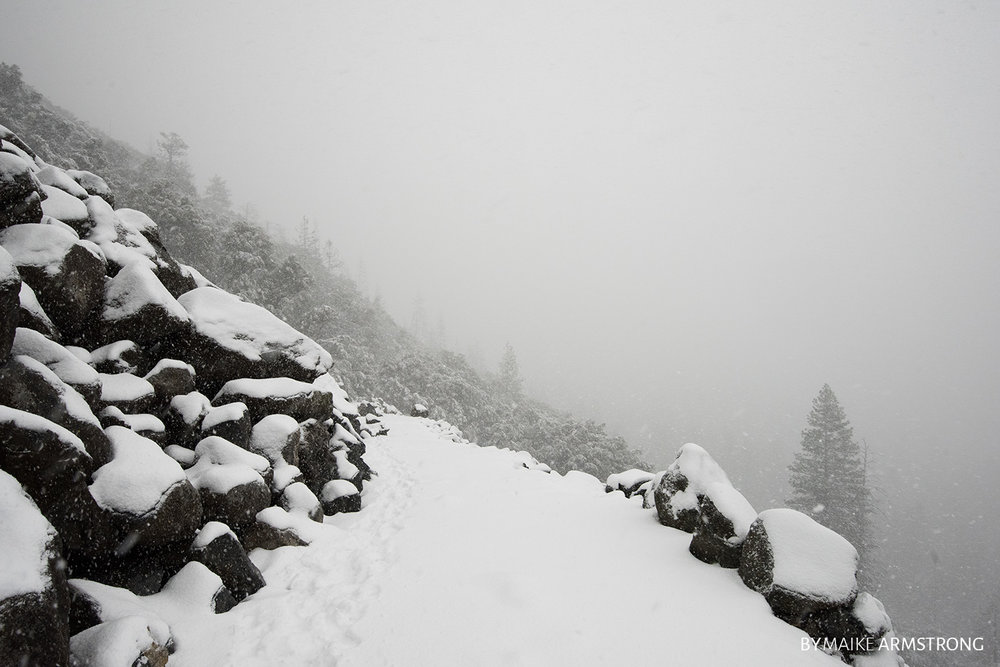 Snowy Mountain Pass · Photography by Maike Armstrong