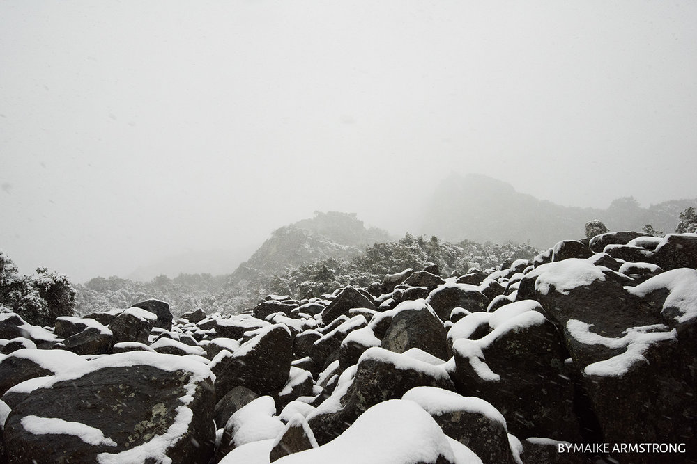 Rocks Up the Hill · Photography by Maike Armstrong