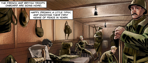 Book One,The Machine Age War, opens the story in the days following The Great War.