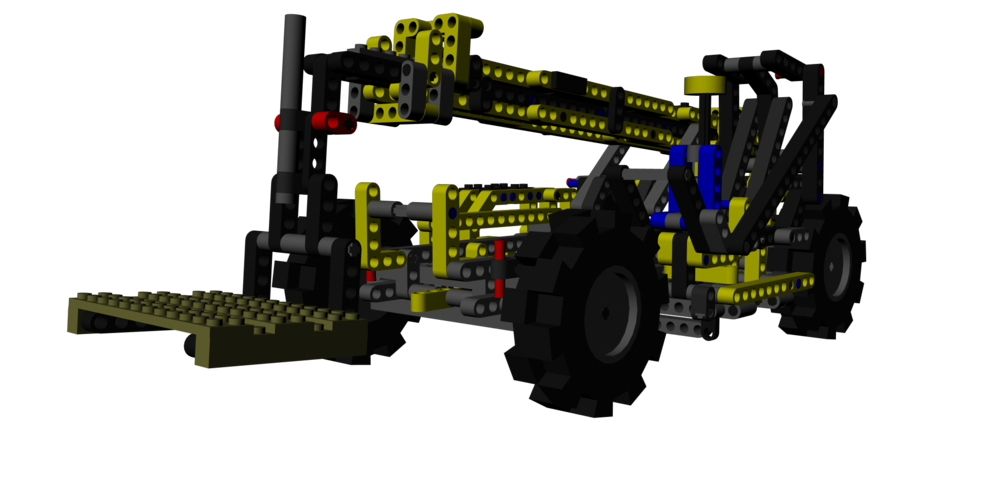 Lego model created using a custom-made script to generate the required pieces. Done in Maya 2014